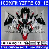 Injectie Wit Hot Koop voor Yamaha YZF600 YZFR6 08 09 10 11 12 YZF-600 234HM.16 YZF 600 R 6 YZF-R6 YZF R6 2009 2009 2010 2011 2012 Valerijen