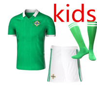 Kids Northern Ireland soccer Jerseys 2018 world cup kids kit...