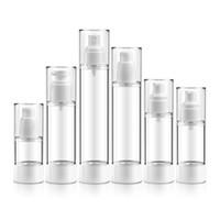 Bouteille cosmétique en plastique vide rechargeable Portable Mini voyage bouteille de parfum pompe Airless vide bouteilles liquides 15ML 30ML 50 ML