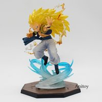 Anime Dragon Ball Figuarts Zero Super Saiyan 3 Gotenks Pvc A...