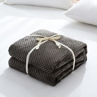 Handmade Chunky Knitted Blanket Wool Thick Line Yarn Throw S...