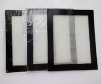 Tapis en silicone pour la cuisson des feuilles Tapis de cuisson en silicone de cuisson au silicone anti-adhésifs durables réutilisables