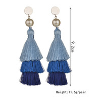 Personality exaggerated Pearl Earrings
