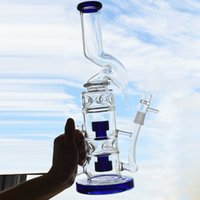 Big Oil Rigs Glass Bong Water Pipe 7mm Thick Recycler Dab Ri...