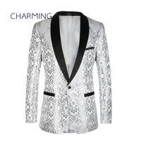 Herrenanzüge für Hochzeit Hohe Qualität Jacquard Stoff Schalkragen Formale Tragen für Herren Designer Anzüge Herren 2 Stück Anzüge (Jacke + Hose)