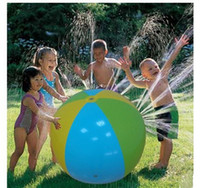 2018 Summer Inflatable Water spray balloon Outdoors Play in ...