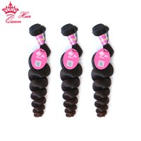 Queen Hair Mixed 3 pcs Lot Loose Wave Brazilian Virgin Hair ...