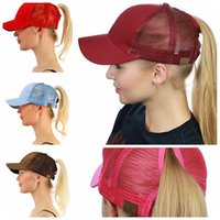 WOMEN CC Ponytail CAP Fashion Girl Basketball Hats Back Hole...