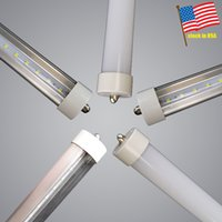 8ft led tube FA8 single pin T8 led light tubes 4ft 5ft 6ft 8...