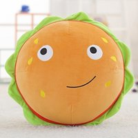 3D Food Plush Toy Stuffed Simulated Food Plush Pizza Toy Sau...