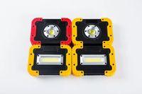 Luz de trabajo de emergencia LED COB reflector USB Linterna 750LM 3 Modo 8800mAH Banco de energía USB Luz de trabajo de emergencia Luz de inundación LED al aire libre