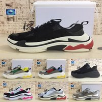 2018 New Paris 17FW Triple S Sneaker Fashion Dad Casual Luxu...