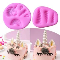 1PC Silicone Cake Mold High Quality Unicorn Shape Bread Pan ...