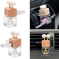 Car Air Freshener Glass Bottle for Essential Oils Diffusers ...