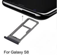 جديدة للحصول على غالاكسي S8 S9 J7 SIM بطاقة صينية فتحة حامل SD بطاقة صينية سيم محول بطاقة إصلاح، واستبدال والاكسسوارات
