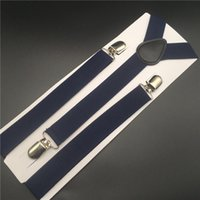 Navy Blue Navy Mens Suspenders Party Costume Holiday Dhgate ...
