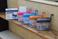 Casa de escritório de vendas A6 mini shredders manuais fabricantes de fábrica de Desktop que vendem arquivo manual