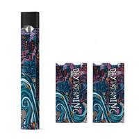 envoltorio personalizado para vape pod pen batería 90 patrones de adhesivo para e cigarrillo mango pod pod pen kit de inicio