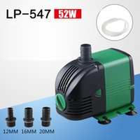 52W Small Submersible Pump for Fish Tank Pump for Aquarium F...
