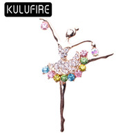 Colorful Jewelry Brooch pins large brooches for women Dance ...