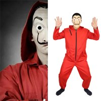 Hot La Casa De Papel Salvador Dali Mask Cosplay Costume Salv...