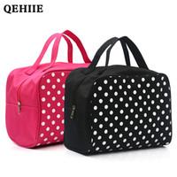 QEHIIE Lady Cosmetic Bag Luxurious Esteticista Organizador multifuncional Praia Travel Bag Makeup WC