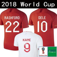 9 Harry KANE 7 STERLING 10 DELE 2018 World Cup Soccer Jersey...