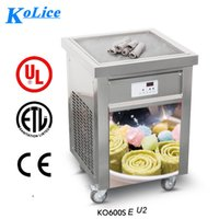 US WH Deliver to door ETL UL NSF single 55*55CM pan FRY ICE ...