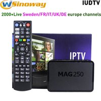 IPTV Europe Set Top Box MAG 250 Linux With 1 year IUDTV iptv...