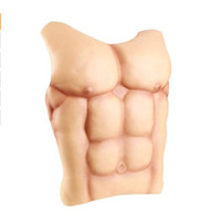 Faux Muscle Chritmas Accessoires Cosplay Maquillage Halloween Mascarade Ches Costume Drôle Poitrine