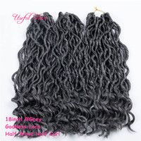 0018 FASHION Crochet Goddess Locs Hair Extensions Faux Locs ...