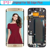 Original LCD Digitizer Touch Screen For Samsung Galaxy S6 Ed...