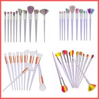 Factory Direct DHL Free Screw Makeup Brushes Set 10PCS Makeu...