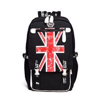 Kids Backpack Students School Bags Newest Fashion British st...