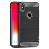 iPaky Case For iPhone Xs Max XR Brushed TPU Back Cover Cases...