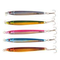 New Fish Fish Fish Swimbaits Metal Fishing lure 9cm 30g Quickly Deep Diving Paillettes Crankbaits Jigs esca