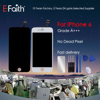 For iPhone 6 Grade A + + + White LCD Display With Touch Screen...