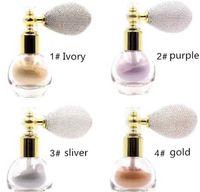 Drop Ship EPACK DHL FANA Beauty Diamond Glitter Powder Fana Spray مع وسادة هوائية Beauty Highlighter Shimmer Face powder 4 ألوان
