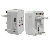 Universal Adapter Steckdose Konverter Adapter mit USB Port World Travel AC Ladegerät Adapter für AU US UK EU