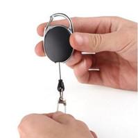 جودة عالية قابل للسحب مفتاح حلقة سلسلة بكرة id الحبل اسم العلامة بطاقة شارة حامل بكرة نكص حزام حلقة رئيسية كليب