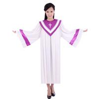 Clergy Choir Rechter Robe Nun Priester Kerk Christelijk Kostuum voor Volwassenen Roost Long Church Clothing voor Volwassenen Black Friday