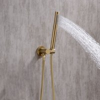concealed wall mounted shower faucet set embedded shower mix...