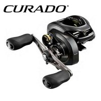 Nouveau modèle Curado K Low Profile Reel Fishing 6 + 1BB Micromodule vitesse Hagane Body Spinning Reels