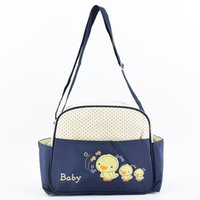Cute Duck Embroidery Women Diaper Bags Portable Mommy Nursin...