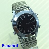 b52c2dfe537 Relógio Falante Espanhol para Cegos ou Deficientes Visuais com Relógio de  Quartzo com Alarme em Stock