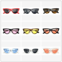 9 Colors Fashion Vintage Retro Sunglasses Cat Eye Sunglasses...