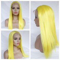 Natural Hairline Long Straight Wigs with Baby Hair Cosplay Y...