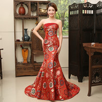 New Modern sexy Party dreses long cheongsam Chinese style ev...