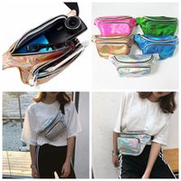 Waterproof Laser Waist Pack Fanny Pack Women Waist Belt Bag ...