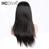 HCDIVA Hair 360 Lace Frontal Wig Pre Plucked With Baby Hair ...